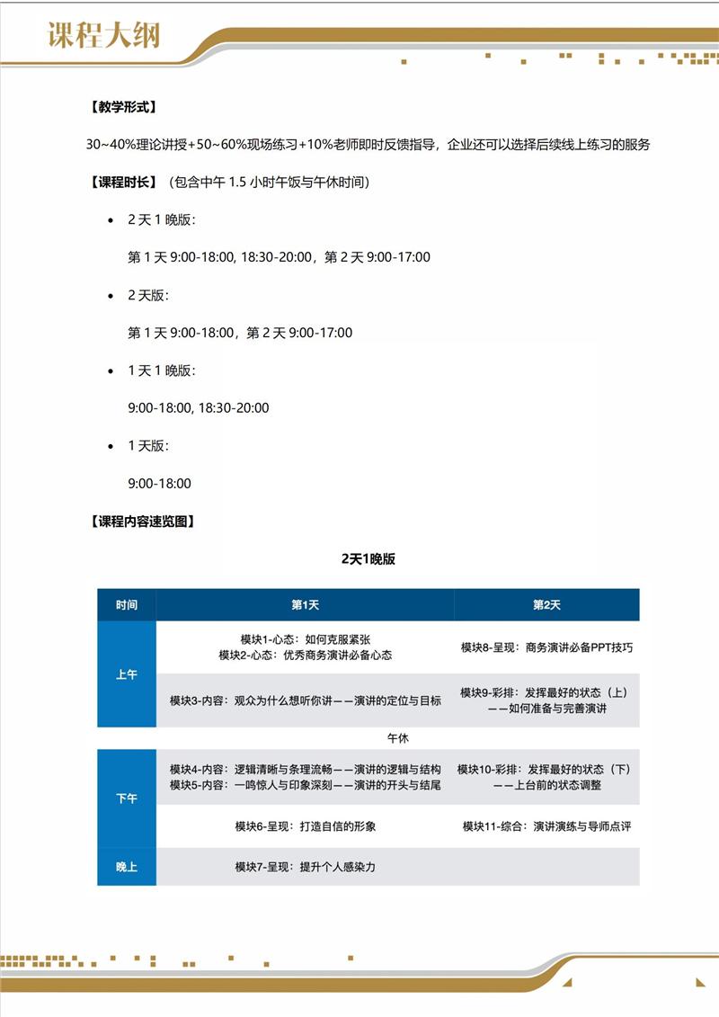刘汉斌老师《商务演讲核心技能一课通》2021_03