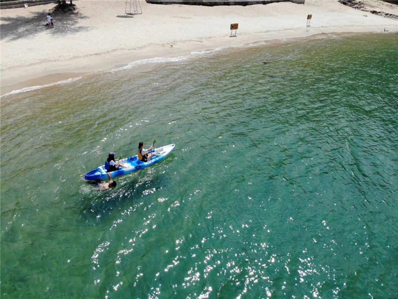 【海上运动】沙鱼涌沙滩体验夏日激情!带你飞带你浪!快来感受海上皮划艇、快艇、飞鱼!